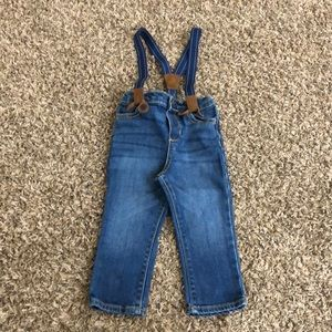 OshKosh Infant Suspender Jeans